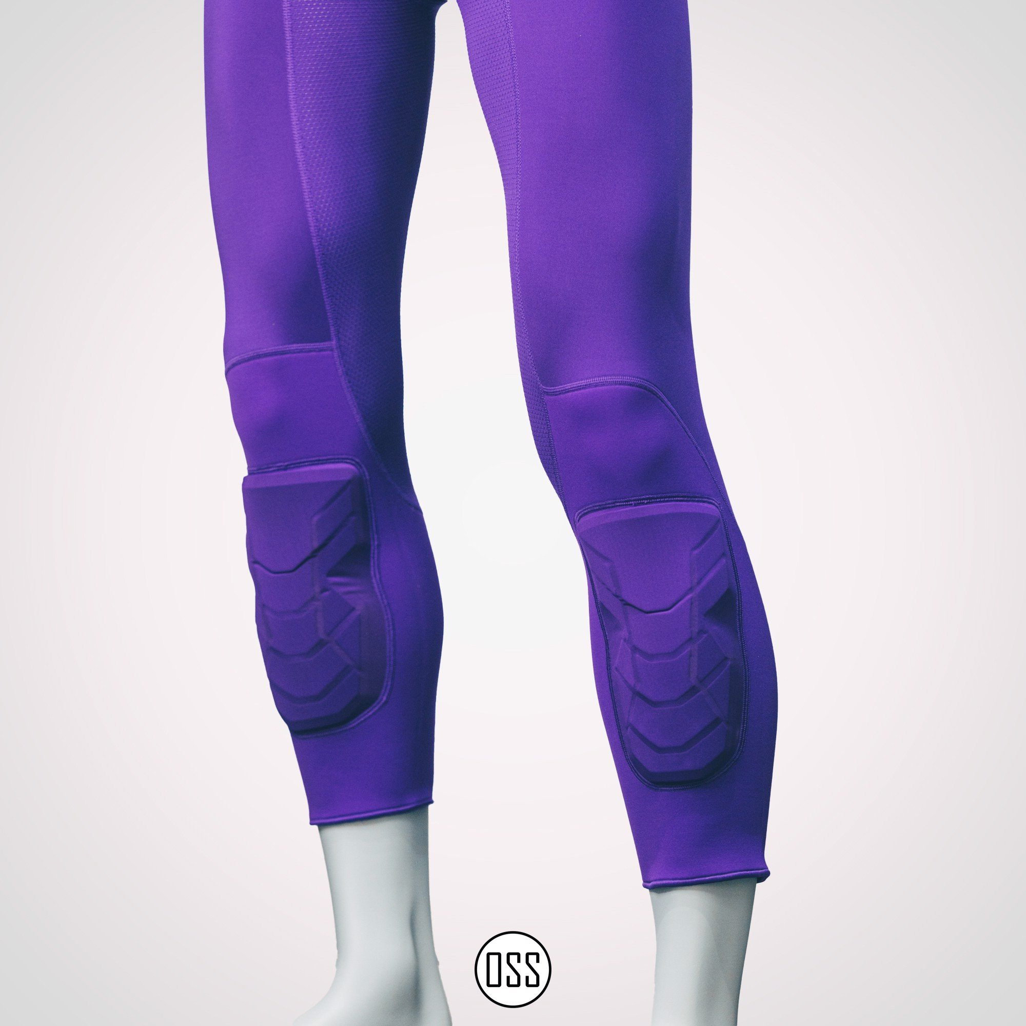 Nike Pro Combat Hyperstrong Tight - Purple