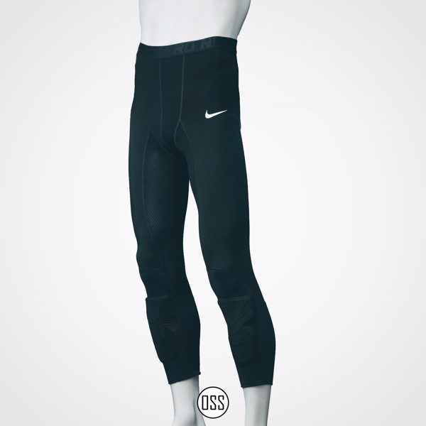 Nike Pro Combat Hyperstrong Tight - Black