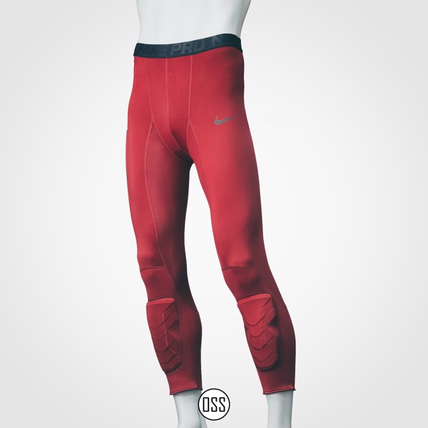 Nike Pro Combat Hyperstrong Tight - Burgundy