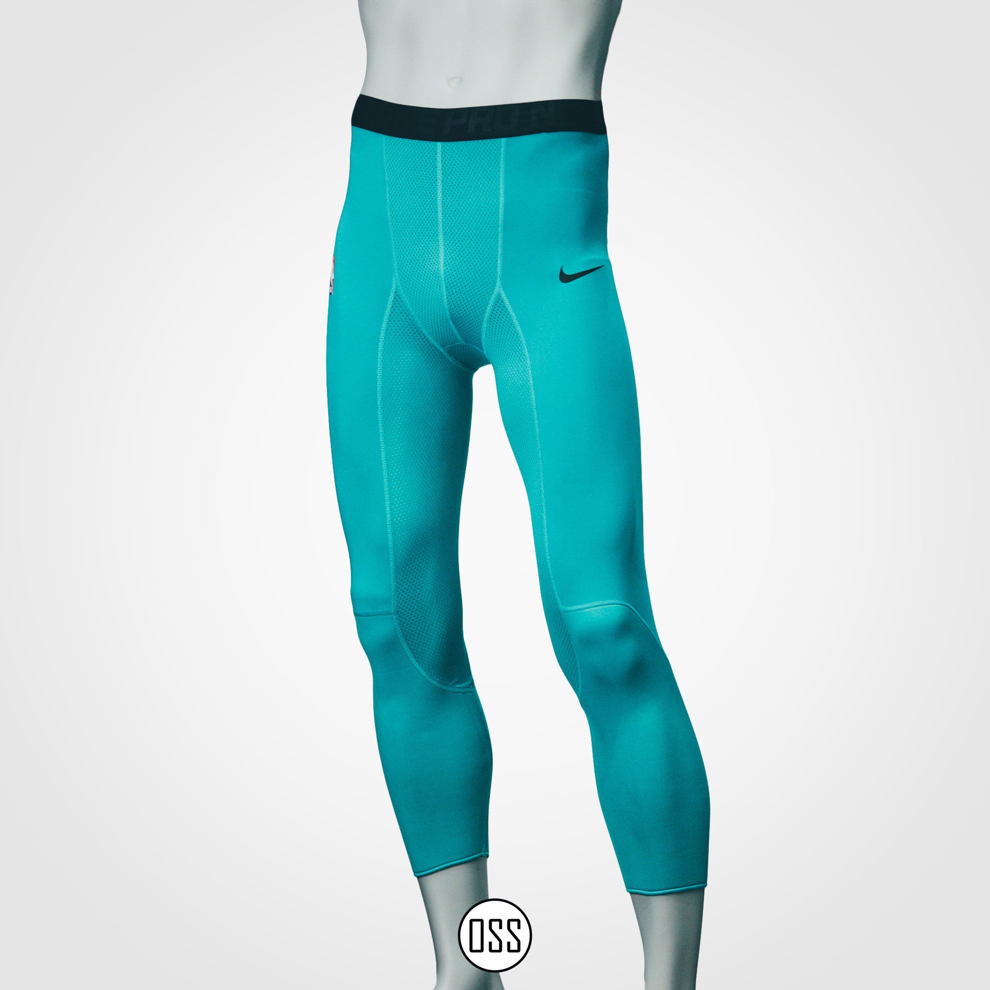 Nike Pro Combat Tight - Mint