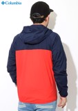 Columbia Square Hike Jacket 'Navy/Red'
