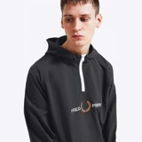 Fred Perry Embroidered Overhead Shell Jacket