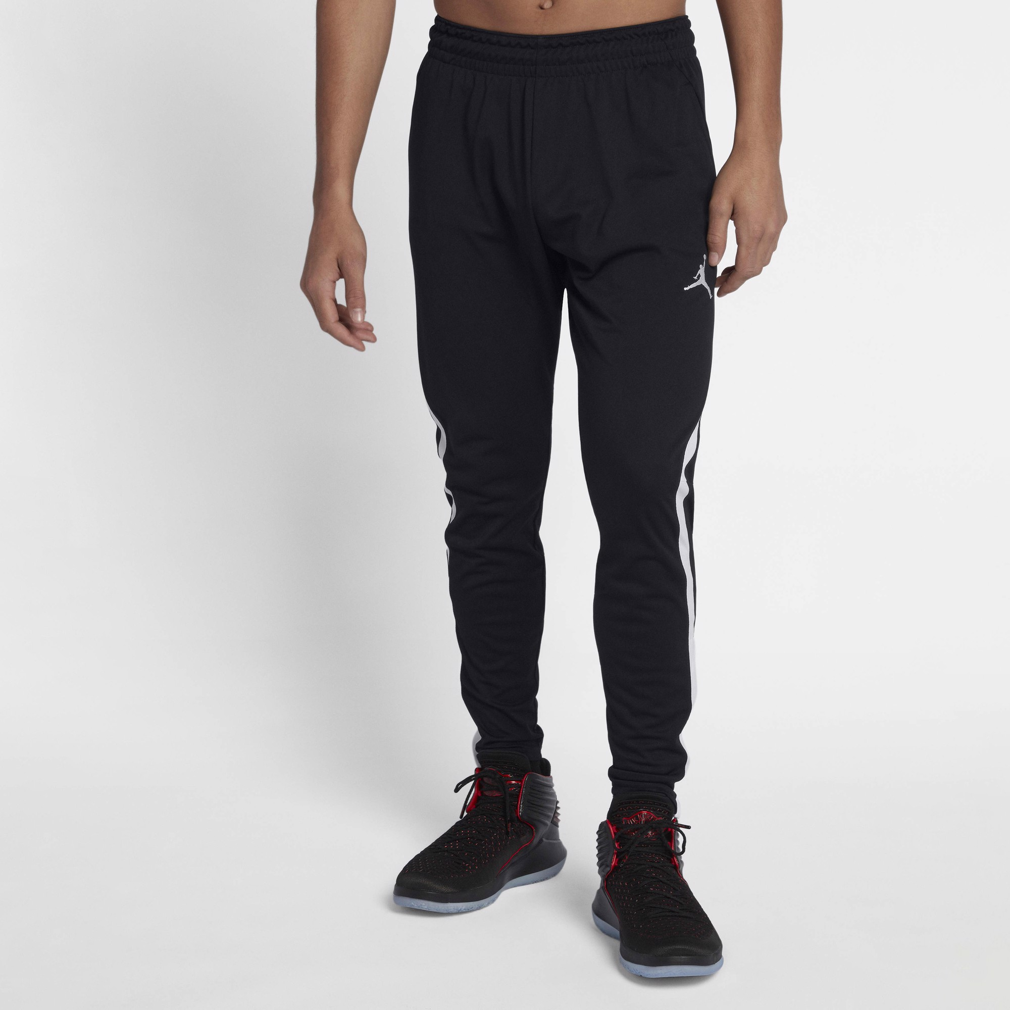 Jordan Dri-FIT 23 Alpha Basketball Pants 'Black/White'