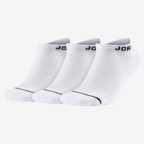 Jordan Everyday Max No-Show Socks (6 Pairs) - White