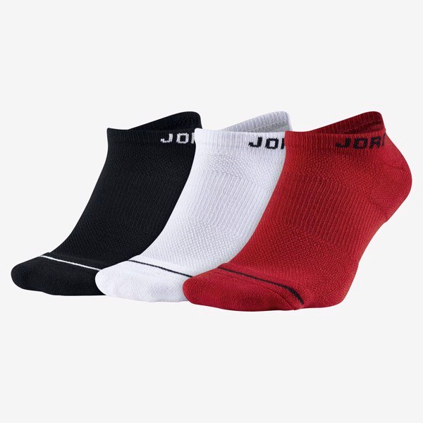 Jordan Everyday Max No-Show Socks (6 Pairs) - Multi-Color