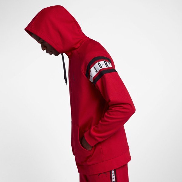 Jordan Jumpman Air Full-Zip Basketball Hoodie 'Red'