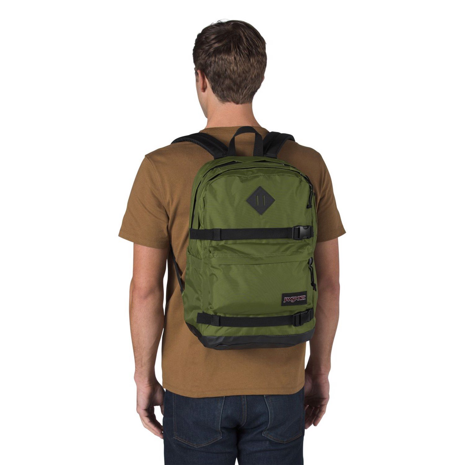 Jansport West Break Backpack 'Olive'