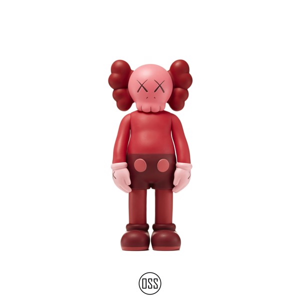 Tượng KAWS Companion Open Edition Vinyl Figure - Blush