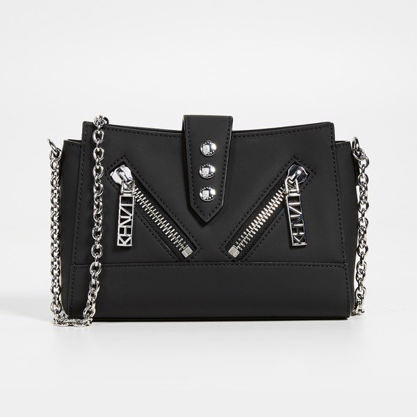 KENZO Kalifornia Tiny Shoulder Bag - Black