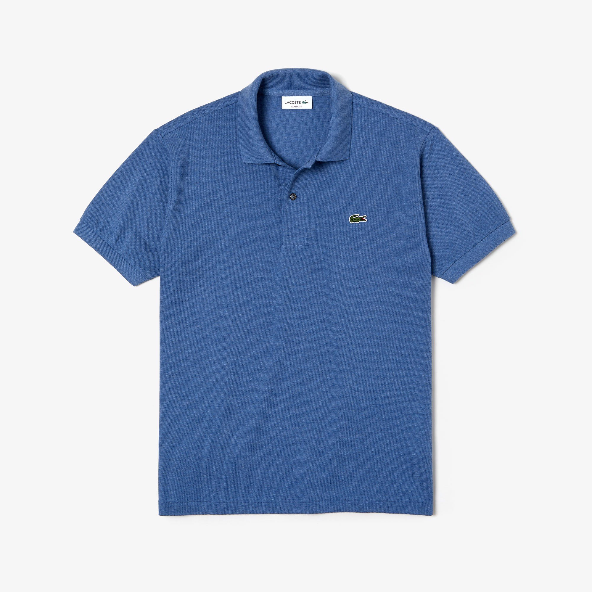Slim fit Lacoste Polo Shirt in petit piqué - Blue Chine