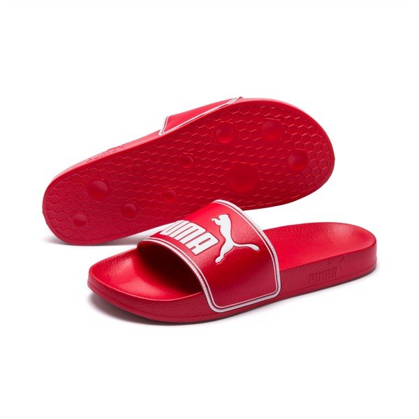 Puma Leadcat Slides - Red