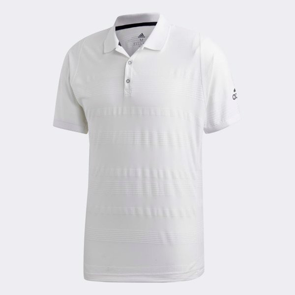adidas Club Polo Shirt 'White'