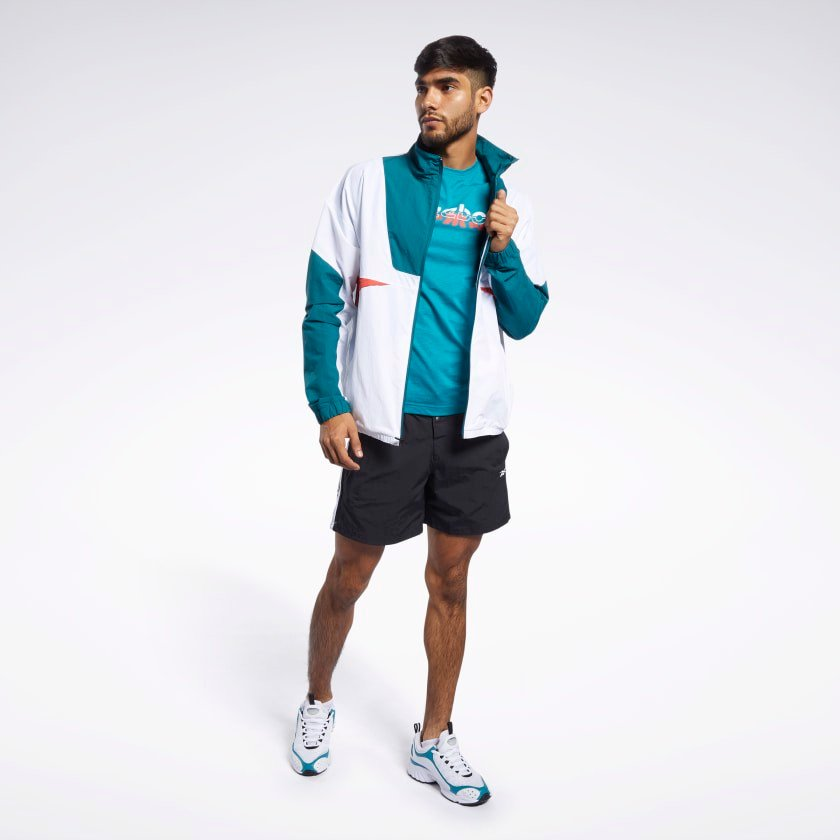 Reebok Meet You There Jacket 'Heritage Teal'