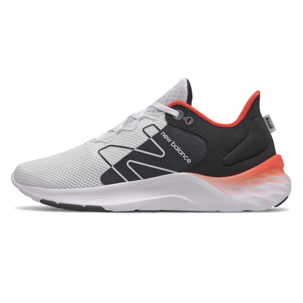 New Balance Fresh Foam Roav v2 - White/Crimson Red