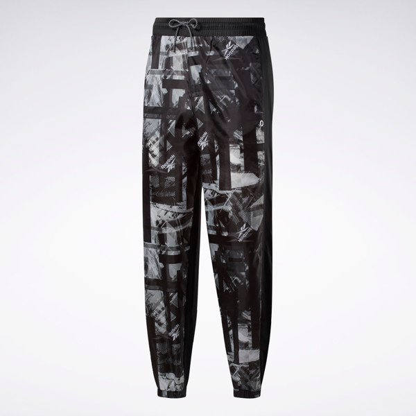 Reebok Meet You There AOP Jogger - Black/White