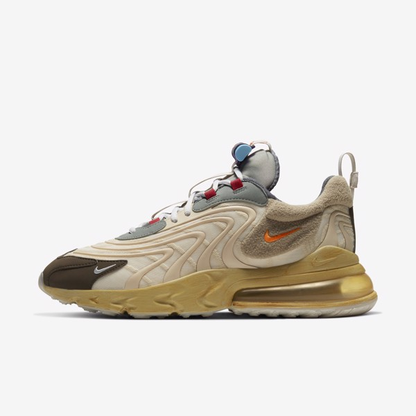 Travis Scott x Nike Air Max 270 React 'Cactus Trail'