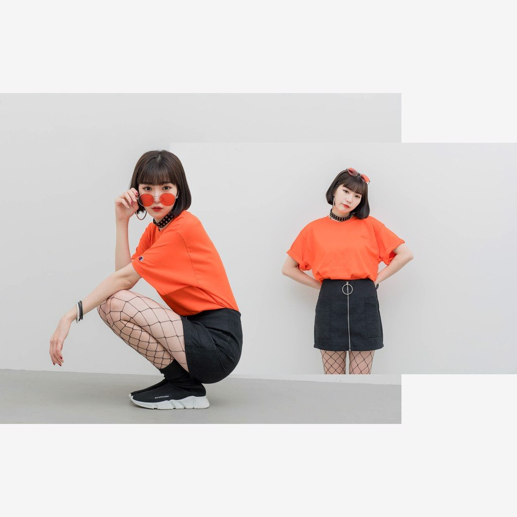 Champion T425 T-Shirt 'Orange'