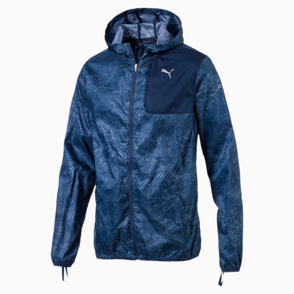 Puma Last Lap Graphic Running Jacket