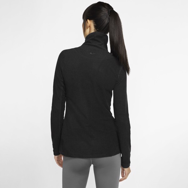 Nike Pro Hyperwarm Velour Top