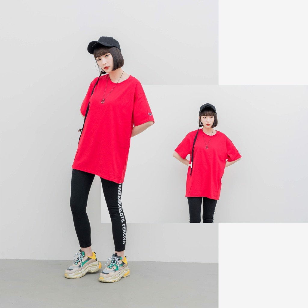 Champion T425 T-Shirt 'Red'