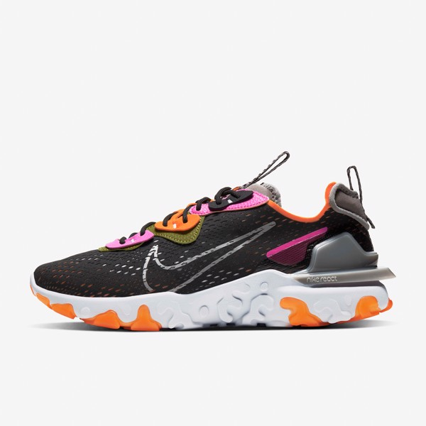 Nike React Vision - Black/Team Orange