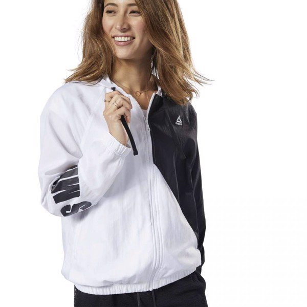 Reebok Jackets LES MILLS Windbreaker 'White'