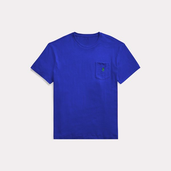 Ralph Lauren Classic Fit Pocket T-Shirt 'Royal'