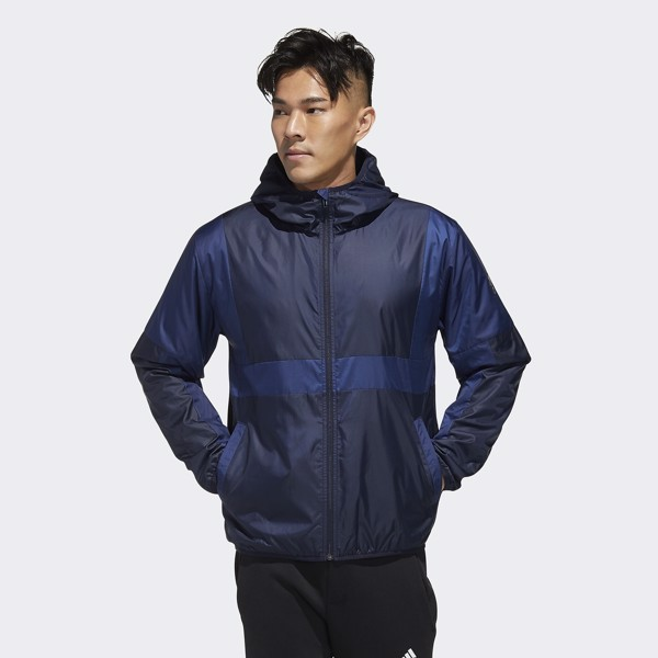 adidas Must Haves Colorblock Jacket - Legend Ink/Tech Indigo