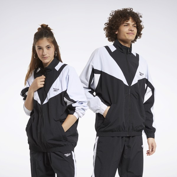 Reebok Classics Twin Vector Track Jacket 'Black'