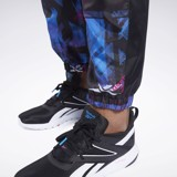 Reebok Meet You There AOP Jogger - Black/Proud Pink