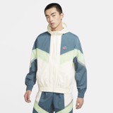Nike Sportswear Windrunner+ Hooded Jacket - Sail/Ash Green