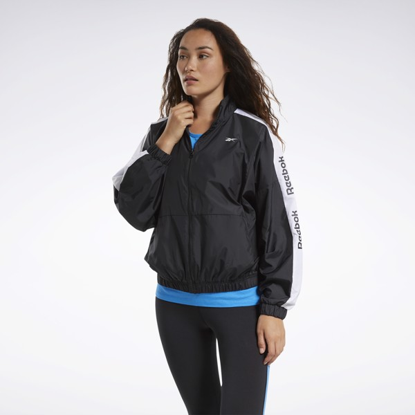 Reebok Training Essentials Linear Logo Jacket - Black