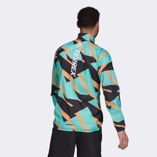 adidas Terrex Parley Agravic WIND.RDY Windbreaker - Acid Mint