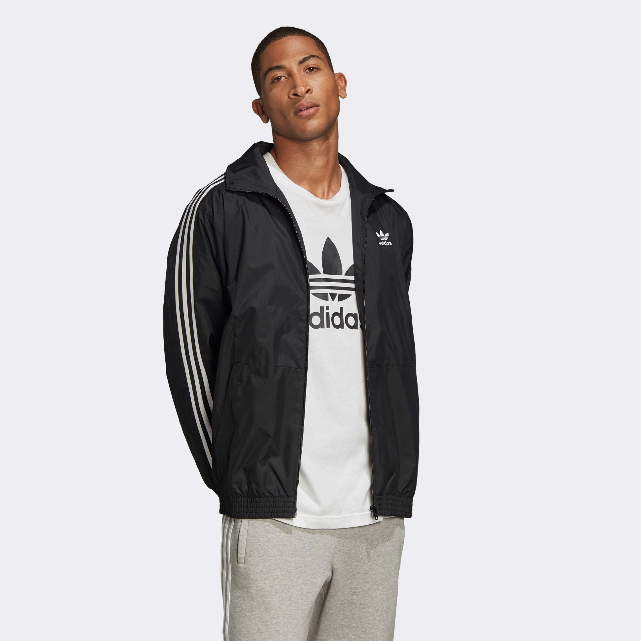 adidas Originals Lock Up Track Jacket 'Black'