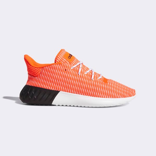 Adidas Tubular Dusk Primeknit 'Orange'