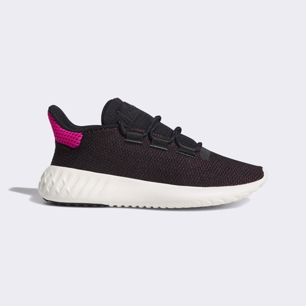adidas Tubular Dusk 'Core Black/Shock Pink'
