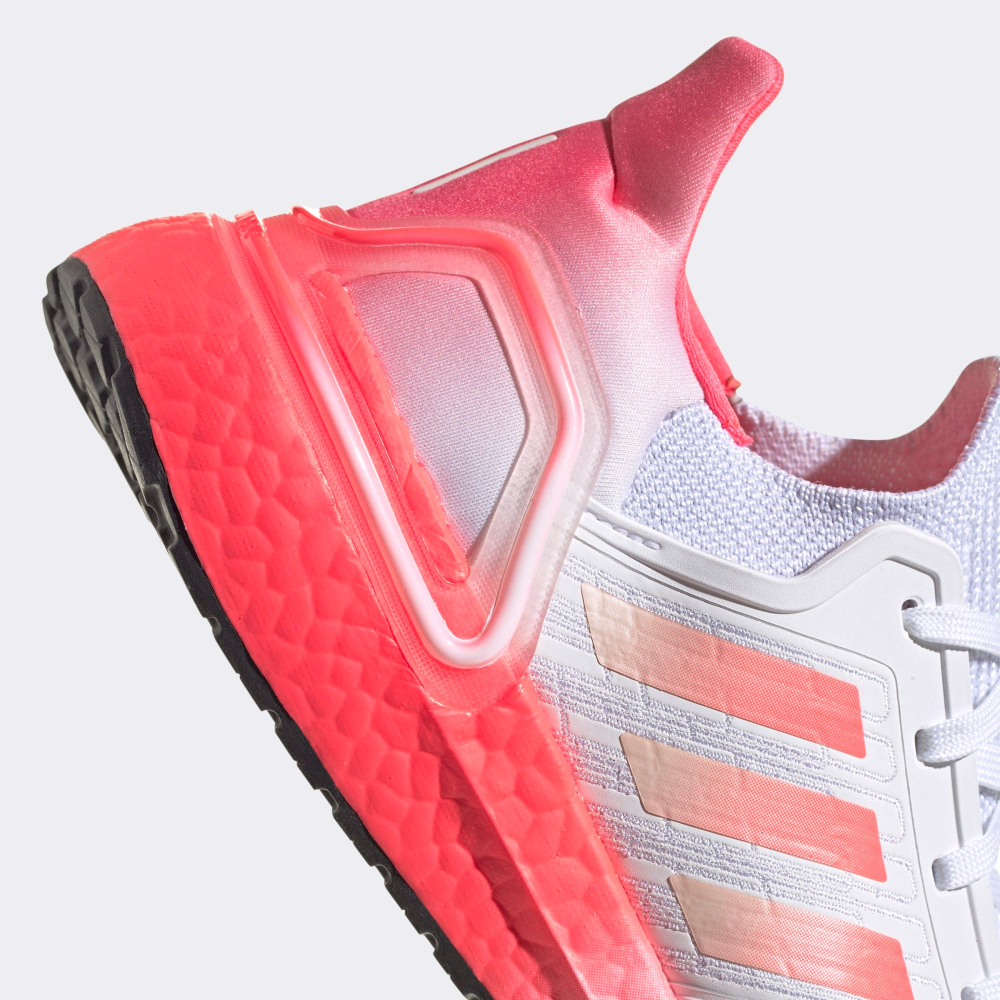 adidas UltraBOOST 20 - Cloud White/Signal Pink