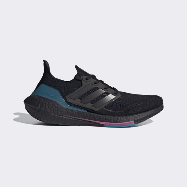 adidas UltraBOOST 21 - Core Black/Active Teal
