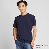 Uniqlo Crew Neck Short-Sleeve T-Shirt 'Navy'
