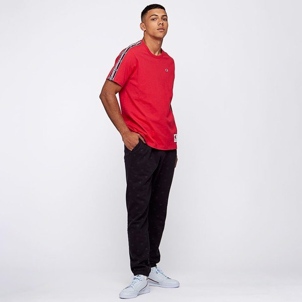 Champion Crew Neck Short Sleeved Tee - Red