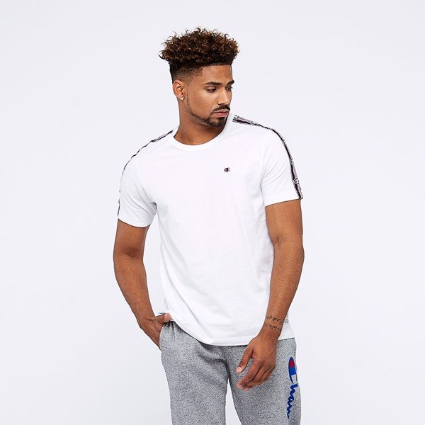 Champion Crew Neck Short Sleeved Tee - White