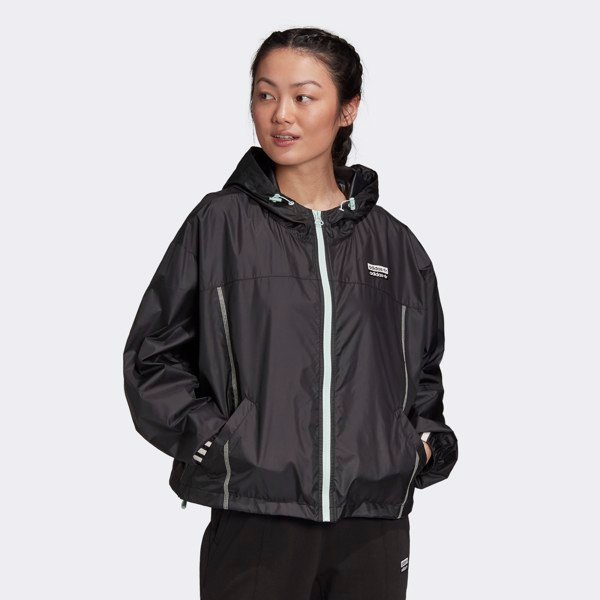 adidas R.Y.V Women Windbreaker - Black/Mint