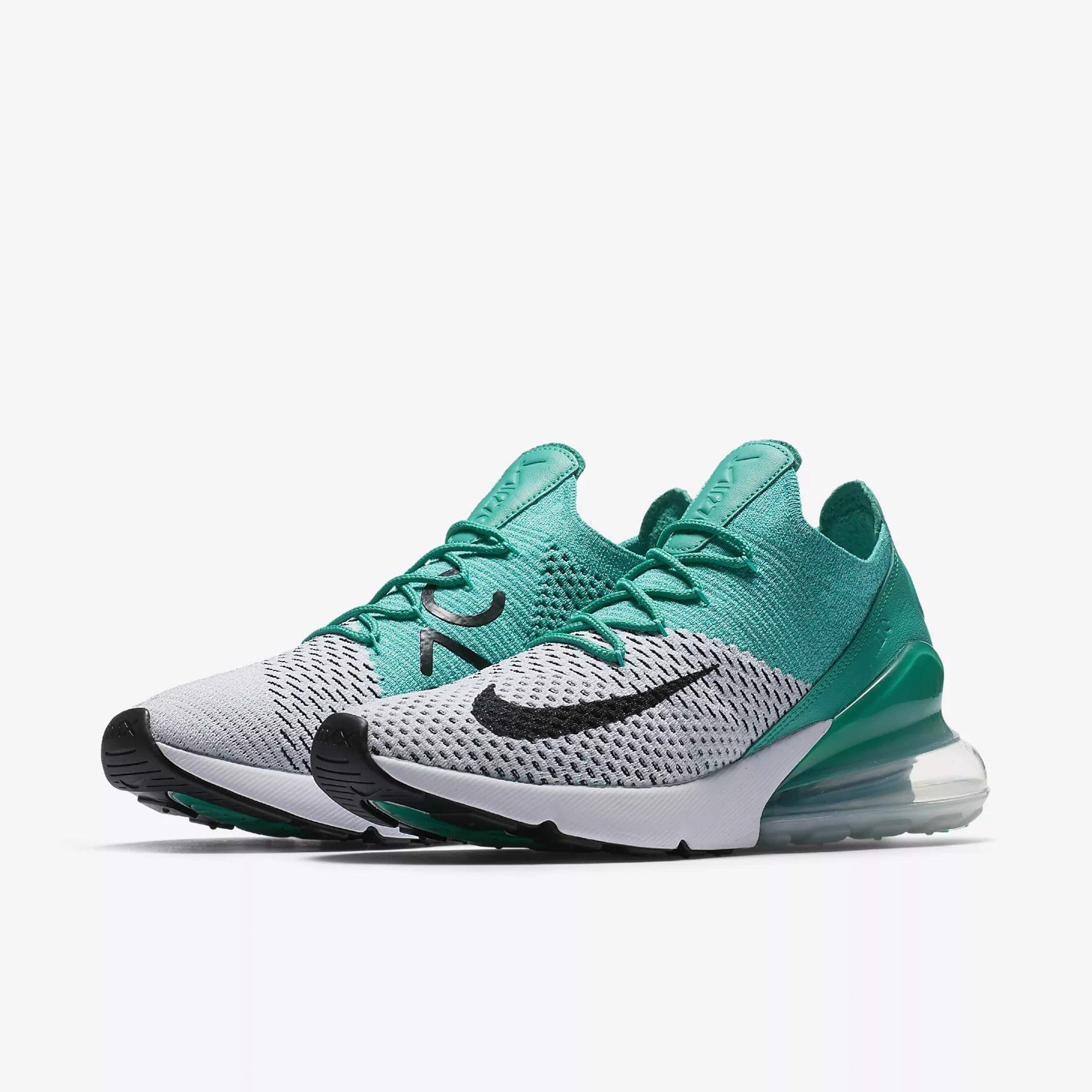 Nike Air Max 270 Flyknit - Clear Emerald