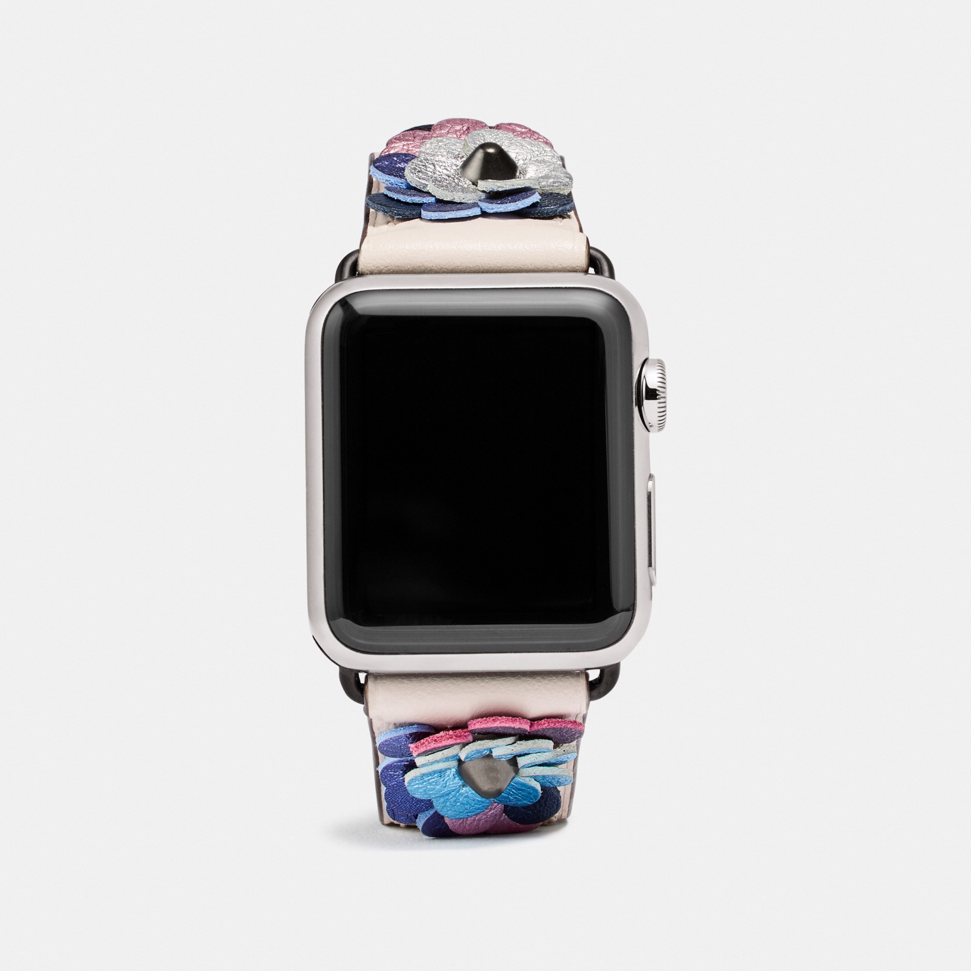 Coach Apple Watch® Strap With Leather Sequins