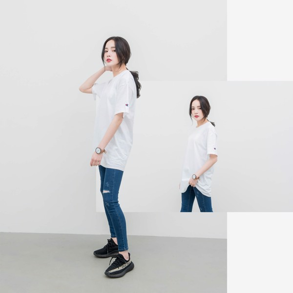 Champion T425 T-Shirt 'White'