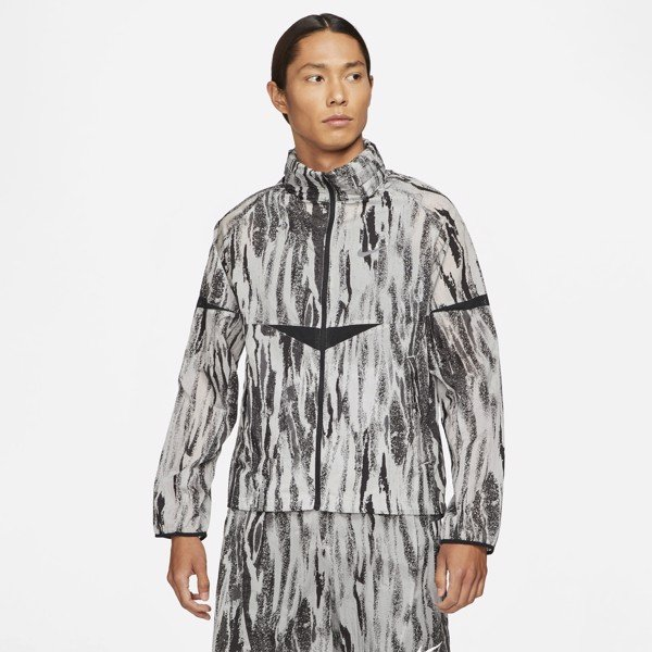 Nike Windrunner Wild Run Ripple Running Jacket - Black