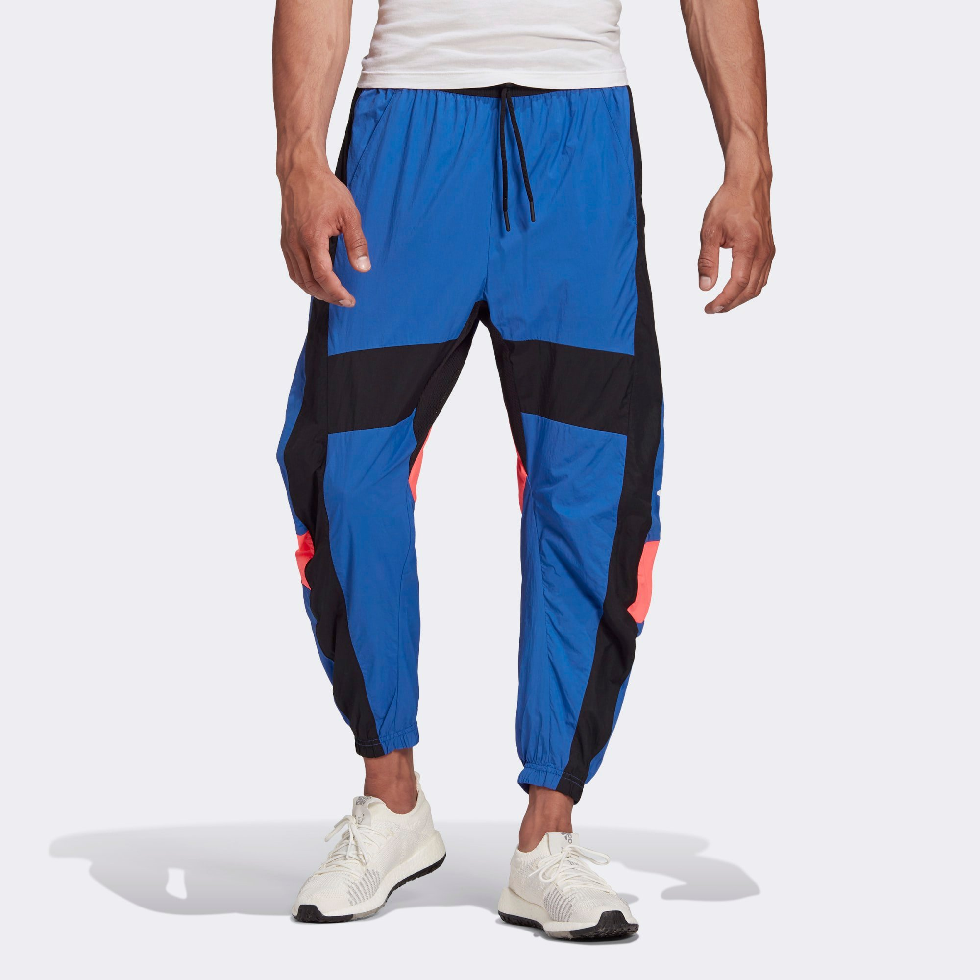 adidas Woven Tape Pants - Blue