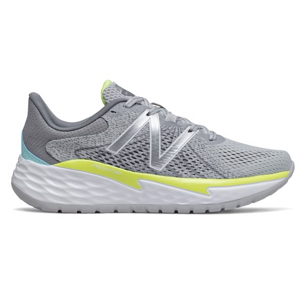 New Balance Fresh Foam Evare - Grey/Yellow