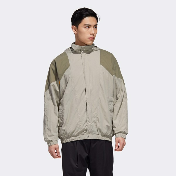 adidas Must Haves Woven Jacket - Feather Grey
