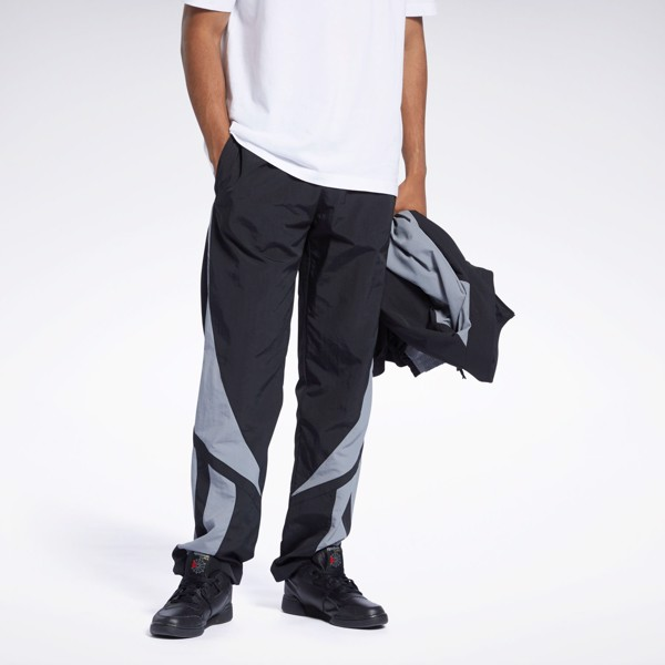 Reebok Classics Twin Vector Pants - Black/Grey